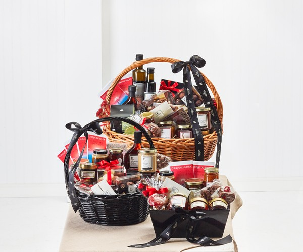 You could win one of the three gift baskets