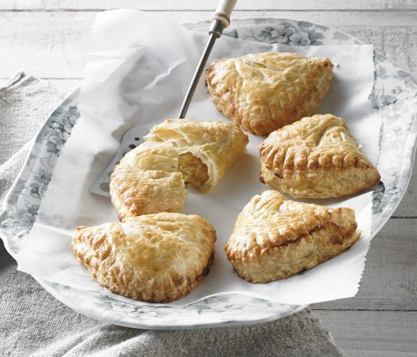 100% butter apple turnover
