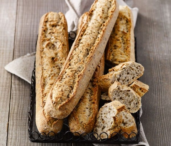 ORGANIC SPROUTED GRAIN BAGUETTINE