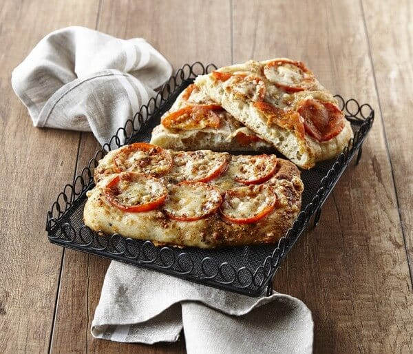 TOMATOES, BALSAMIC AND PARMESAN FOCACCIA