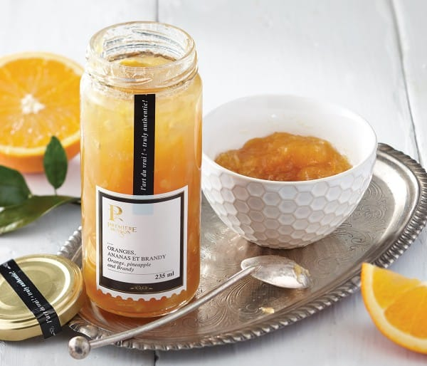 ORANGE, PINEAPPLE AND BRANDY JAM