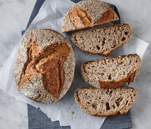 SPELT AND CHIA SEED BREAD