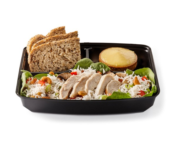 Salade d'amour with chicken