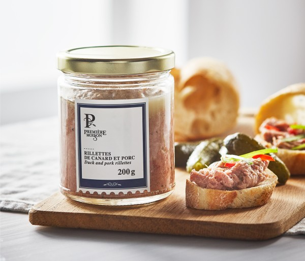 DUCK AND PORK RILLETTES