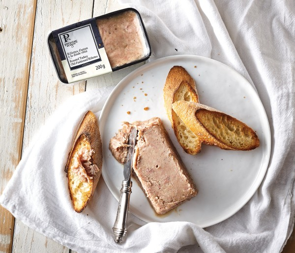 ROASTED TURKEY OLD-FASHIONED RILLETTES