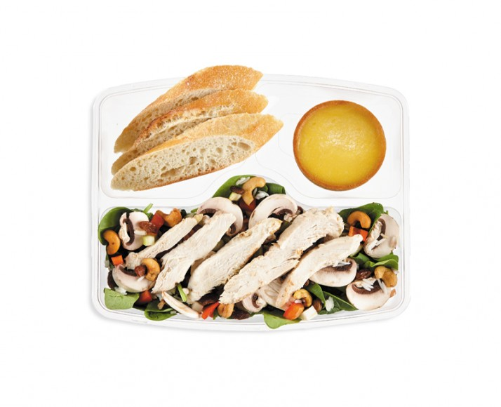 MEAL-SIZED CHICKEN AMOUR SALAD