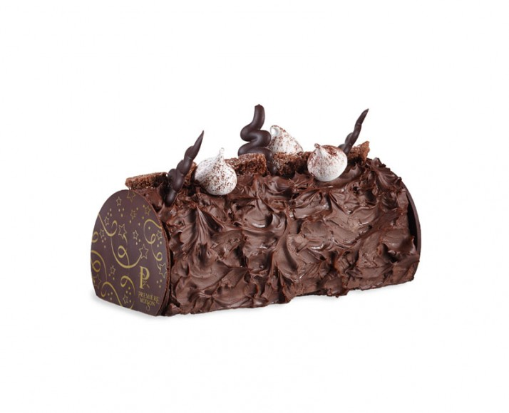 CHOCOLATE BUTTER CREAM YULE LOG