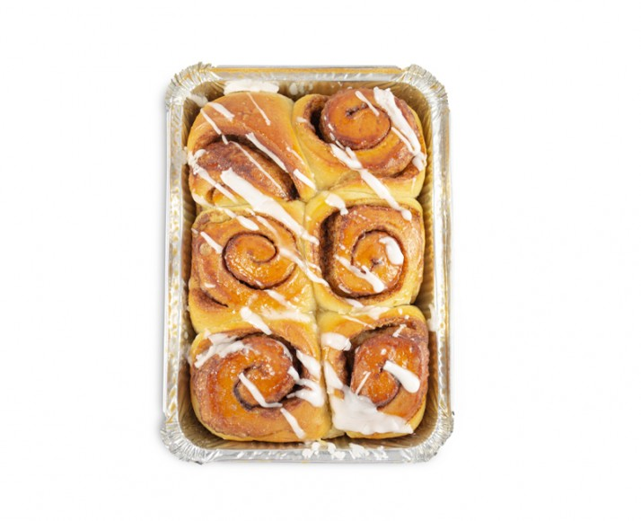 PACKAGE OF 6 CINNAMON BUNS