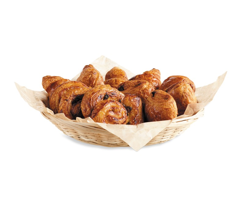 BASKET OF MINI VIENNESE PASTRIES
