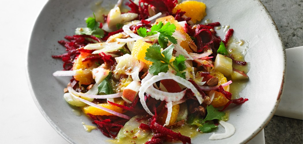 Raw Beet and Fennel Salad