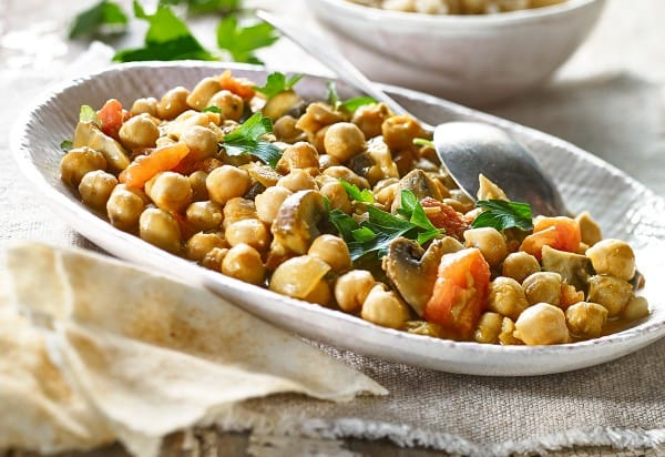 Indian-style chickpeas